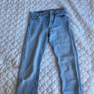 Levi's 501 Vintage Light Blue Jeans